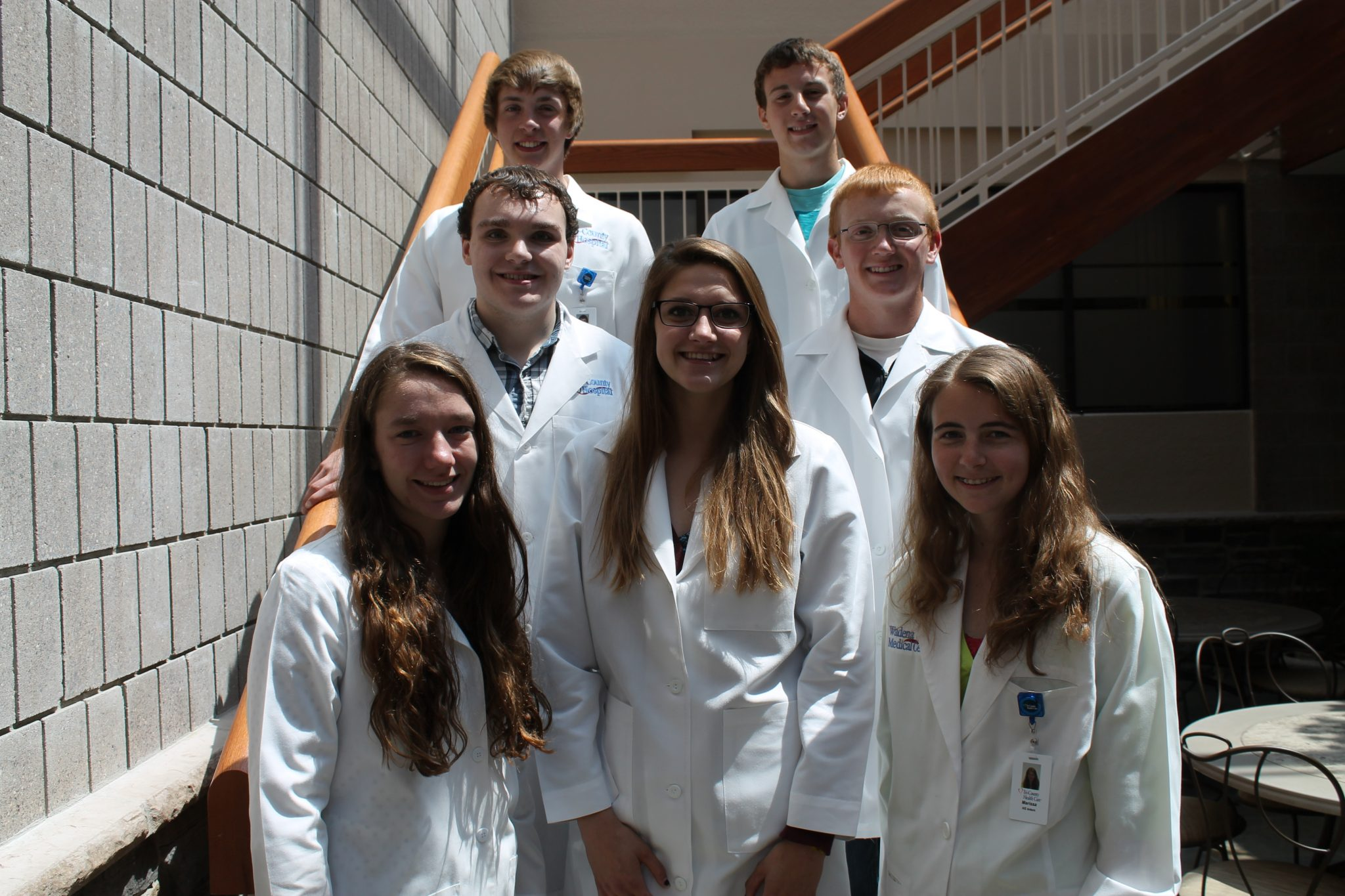 2015 HS Summer Interns (Taylor is center, front row)