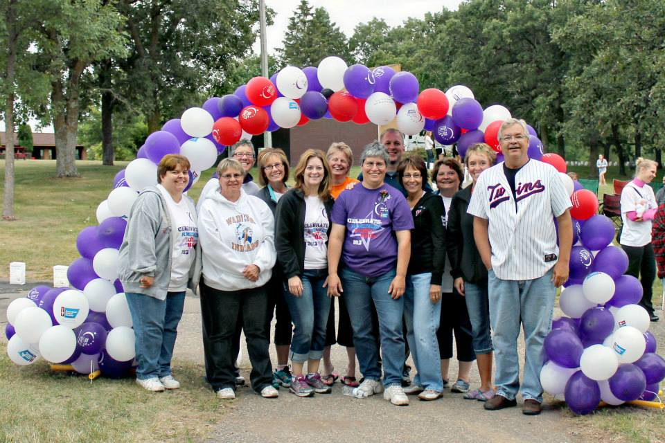 Sharon large group Relay for Life