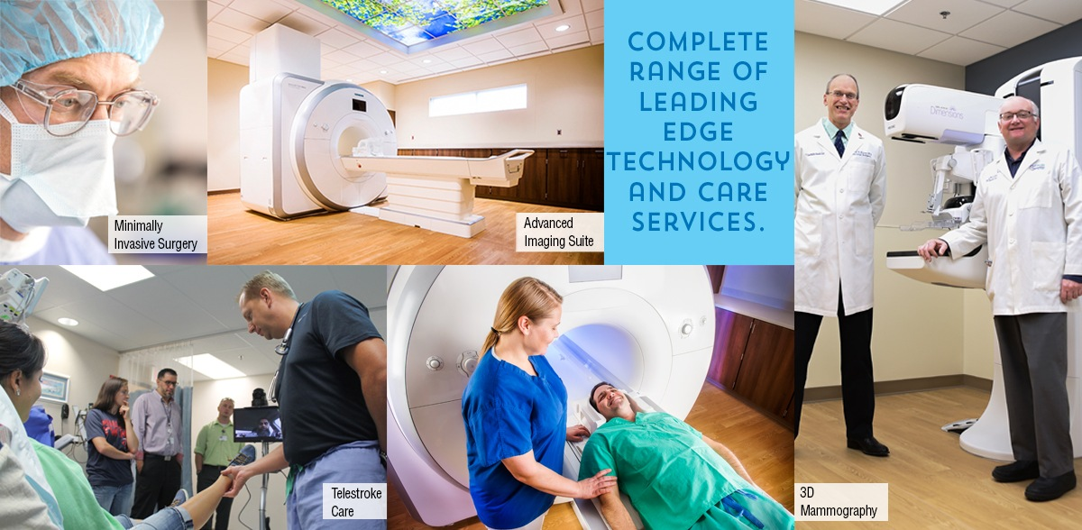 Complete range of leading edge technology and care services.