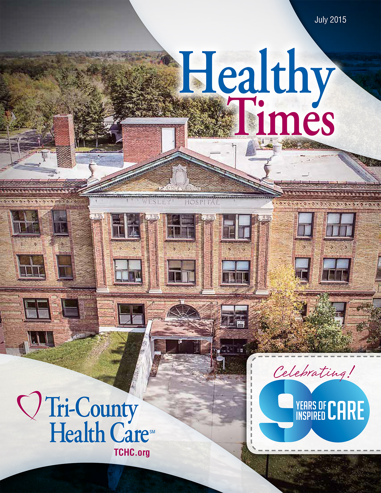 Healthy Times July 2015 Cover