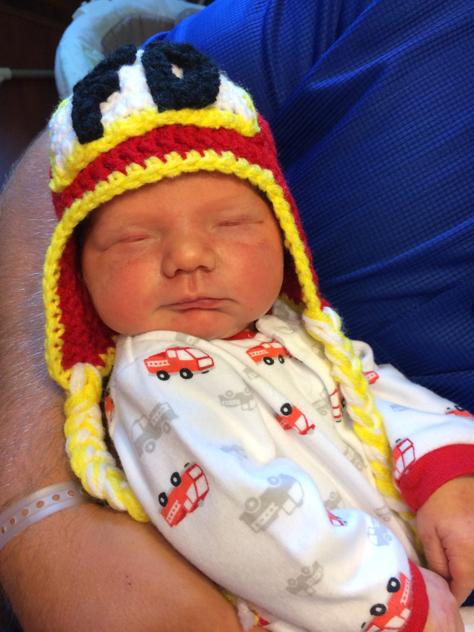 Baby Dille with hat from DuChene