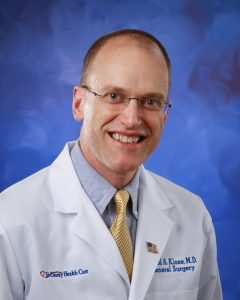 GERD/LINX surgeon, David Kloss.