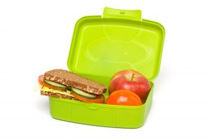 healthy lunch box example