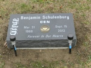 Heart Donor - Ben's Grave