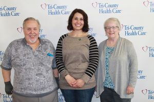 Heart donor family meets the recipient of their son's heart, Stephanie.