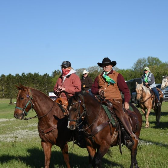 Riders from Trails4Transplants set out bright and early Sunday morning from the Wadena County Fairgrounds. This is the final leg of their six-year 2,000-mile journey raising awareness and money for organ, eye and tissue donation.