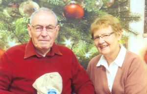 Lillian and Graydon, whom she was the caregiver for as he suffers from dementia.