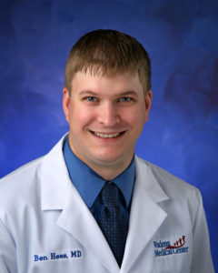 Dr. Hess has seen a sizable decline in traditional prostate examinations in recent years.
